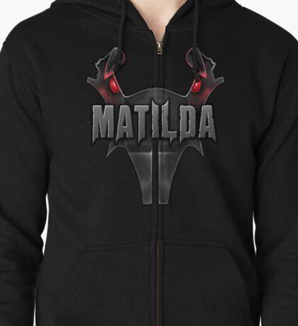 Matilda  Zipped Hoodie