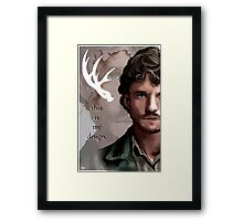 Will Graham - This is My Design Framed Print
