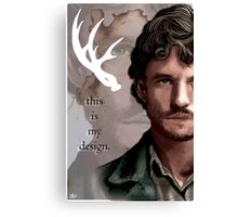 Will Graham - This is My Design Canvas Print