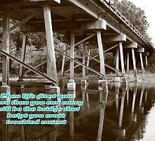 Bridge over troubled waters2 by John Davis