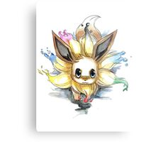 eevee with many tails evolutions Metal Print