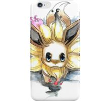eevee with many tails evolutions iPhone Case/Skin