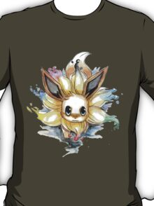 eevee with many tails evolutions T-Shirt