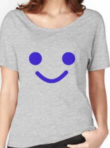 Smiling Minifig Face Women's Relaxed Fit T-Shirt