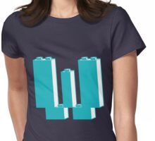 THE LETTER W, Customize My Minifig Womens Fitted T-Shirt