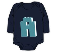 THE LETTER A, Customize My Minifig One Piece - Long Sleeve