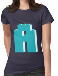 THE LETTER A, Customize My Minifig Womens Fitted T-Shirt
