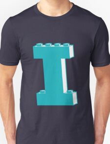 THE LETTER I, Customize My Minifig T-Shirt