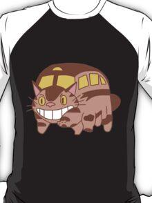Cat Bus - Totoro T-Shirt