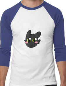 Chibi Toothless Men's Baseball ¾ T-Shirt