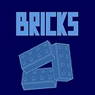 Blue Bricks, Customize My Minifig by Customize My Minifig