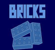Blue Bricks, Customize My Minifig by Customize My Minifig