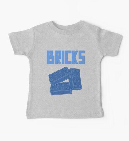 Blue Bricks, Customize My Minifig Baby Tee