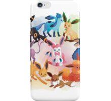 eevee cool evolutions iPhone Case/Skin