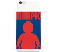 Retro Large Black Minifig, Customize My Minifig iPhone Case/Skin
