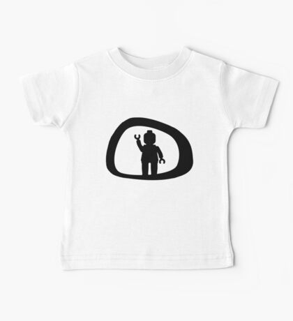View from a Car Wing Mirror Baby Tee