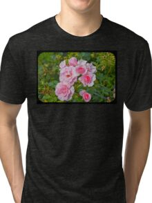 Beautiful flowers Tri-blend T-Shirt