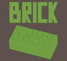 Green Brick, Customize My Minifig Baby Tee