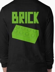 Green Brick, Customize My Minifig Long Sleeve T-Shirt