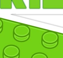 Green Brick, Customize My Minifig Sticker