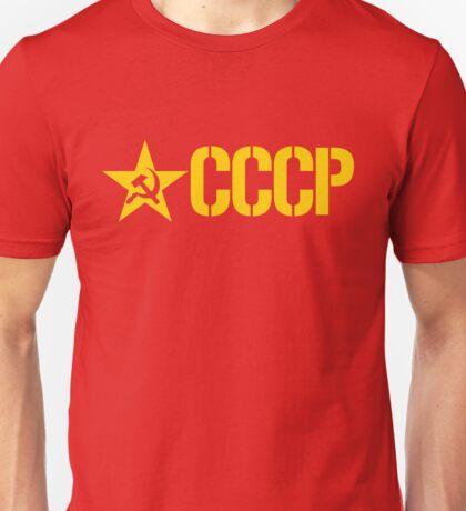 CCCP STENCIL Unisex T-Shirt