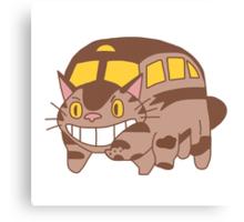 Cat Bus - Totoro Canvas Print