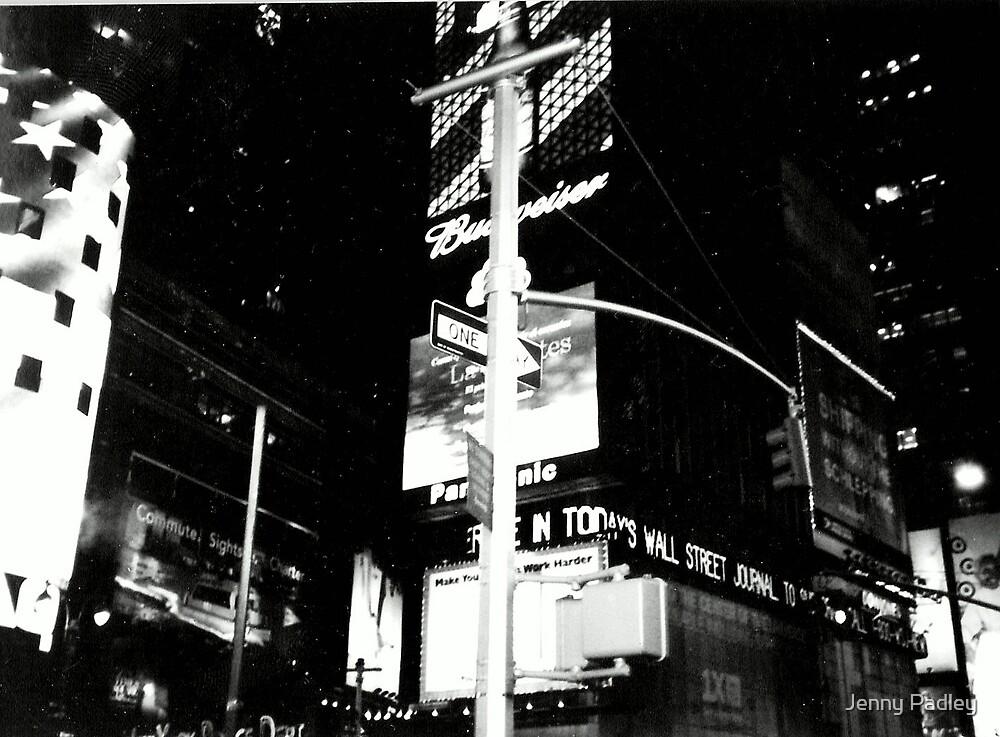 Times square by Jenny Padley