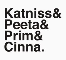 Katniss & Peeta & Prim & Cinna. Kids Clothes