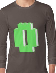 THE LETTER O, Customize My Minifig Long Sleeve T-Shirt