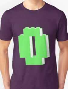 THE LETTER O, Customize My Minifig Unisex T-Shirt