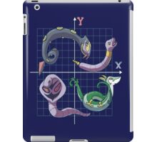 x and y as pokemon world iPad Case/Skin
