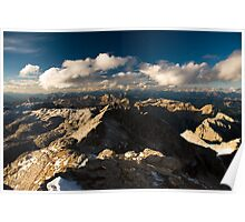 Dolomite Peaks Poster