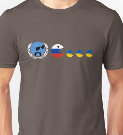 United Nations, Russia and Ukraine Unisex T-Shirt