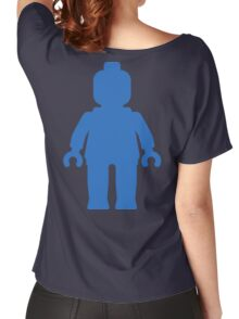 Minifig [Large Blue], Customize My Minifig Women's Relaxed Fit T-Shirt