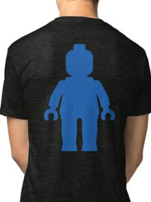 Minifig [Large Blue], Customize My Minifig Tri-blend T-Shirt