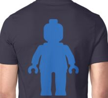 Minifig [Large Blue], Customize My Minifig Unisex T-Shirt