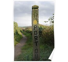 Port Post Poster