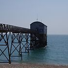 Jetty At Selsey East by lezvee