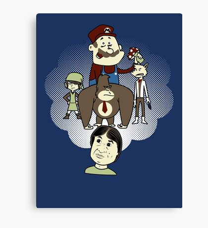 The Marvelous Mind of Miyamoto Canvas Print