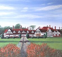 """The Petwood Hotel, Woodhall Spa, Lincolnshire, England - """"Home of the Dambusters"""" by NatMason"""