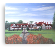 """The Petwood Hotel, Woodhall Spa, Lincolnshire, England - """"Home of the Dambusters"""" Canvas Print"""
