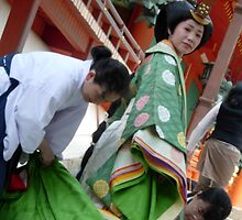 Shinto Bride by Faustus
