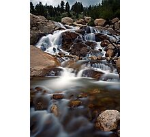 Aluvial Fan - Rocky Mountain National Park Photographic Print