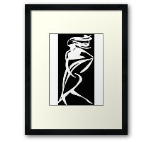 In a Hurry - Series 2 Framed Print