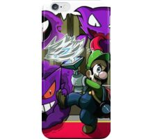 luigi mansion crossover pokemon iPhone Case/Skin