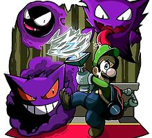 luigi mansion crossover pokemon by danocerebral69