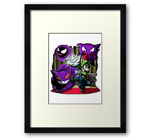 luigi mansion crossover pokemon Framed Print