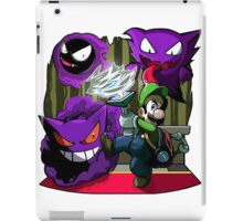 luigi mansion crossover pokemon iPad Case/Skin