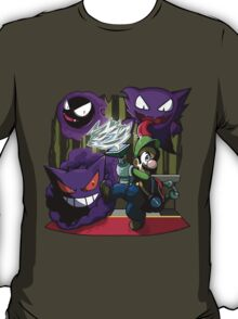 luigi mansion crossover pokemon T-Shirt
