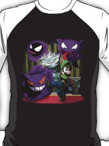 luigi mansion crossover pokemon T-Shirt